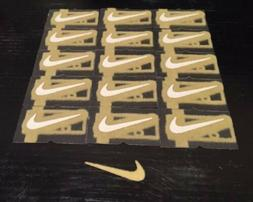 1 x Nike GOLD Active Sports Running Basketball Yoga IRON-ON