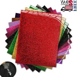 10 Most Popular Colors Iron On Vinyl Starter Pack, Assorted