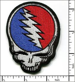 10 pcs embroidered iron on patch grateful