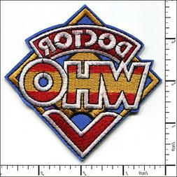 10 Pcs Embroidered Iron on patches Doctor Who TV ahow AP025d