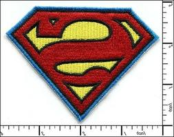 10 pcs embroidered iron on patches superman