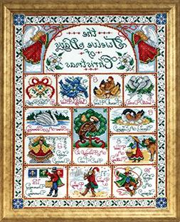 Design Works Crafts 12 Days of Christmas Counted Cross Stitc