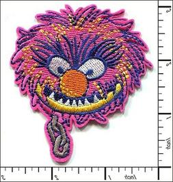 15 Pcs Embroidered Iron on patches Muppets Animal Cartoon 6.