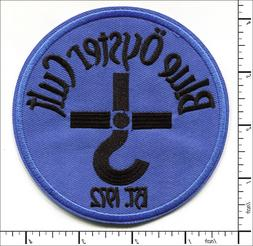 20 Pcs Embroidered Iron on patches Blue Oyster Cult AP047bO