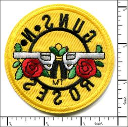 20 Pcs Embroidered Iron on patches Guns N Roses Metal Rock B