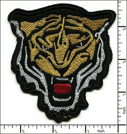 """20 Pcs Embroidered Iron on patches Tiger Head 3.35""""x3.66""""  A"""