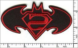 20 Pcs Embroidered Sew or Iron on patches Super Batman Badge