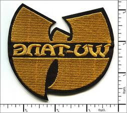 20 Pcs Embroidered Sew or Iron on patches Wu Tang Hip Hop Ba