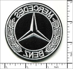 30 Pcs Embroidered Iron on patches Mercedes Benz Motors Embl