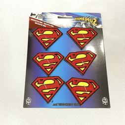 6 count iron on mini application patches