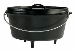Lodge 8 Quart Cast Iron Deep Camp Dutch Oven