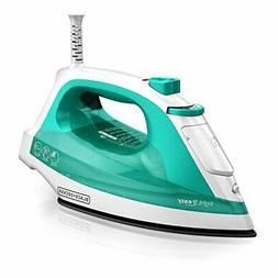 BLACK+DECKER Light 'N Easy Compact Steam Iron, Turquoise, IR