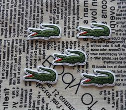 Alligator Logo Iron On Patch Embroidered Sew On Appique Badg