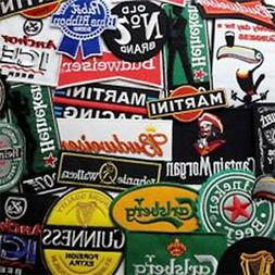 BEER, LIQUOR & ALCOHOL - Iron-on Patch Collection - Chose Di