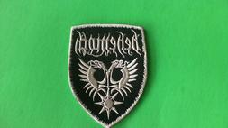 Behemoth Iron On Patch New US Seller Black Metal Dimmu Borgi