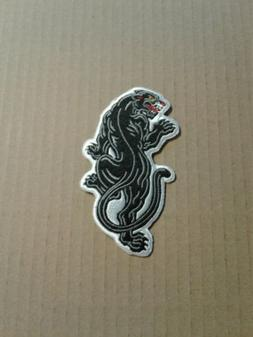 Black Panther Applique Embroidered Iron on Patches  Custom