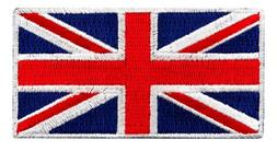 British Union Jack Embroidered Patch England Flag UK Great B