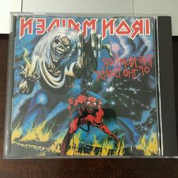 CD 1982 CDP 7 46364 2 Iron Maiden The Number Of The Beast Ca