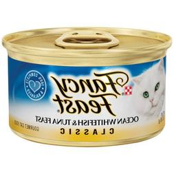 Classic Ocean Whitefish and Tuna Wet Cat Food