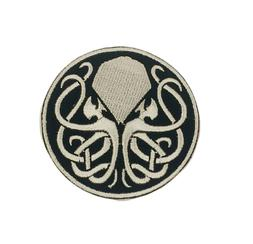 Cthulhu Iron on/Sew on Embroidered Patch/Badge T-shirt Patch