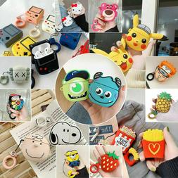 cute 3d airpods silicone case protective cover