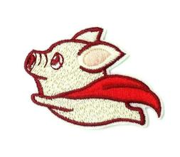 Cute Fly Pig Embroidered Sew On Iron On Patch Badge Clothes