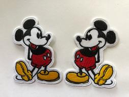 Disney Mickey mouse Embroidered Iron On / Sew On Patch#2
