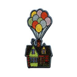 Disney Up Balloon House Float Embroidered Iron On Patch - Li