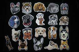 DIY Iron on Patches Embroidered Badge Applique Fabric Craft