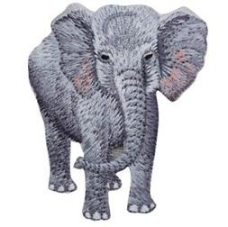 Elephant Applique Patch