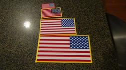 embroidered american flag patches choose small medium