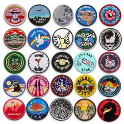 Embroidered Sew On Iron On Patches Badge Fabric Craft Transf