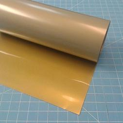 "Siser Easyweed Gold 15"" x 3 Iron on Heat Transfer Vinyl Roll"