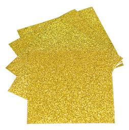 Expressions Vinyl - Gold - 9in. x 12in. 5-pack Siser Glitter