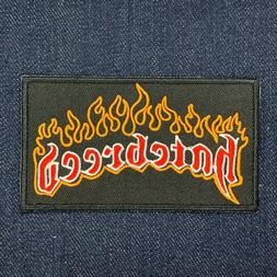 HATEBREED METALCORE HEAVY METAL MUSIC BAND IRON ON EMBROIDER