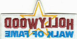 HOLLYWOOD WALK OF FAME Iron On Patch Movies Acting TV