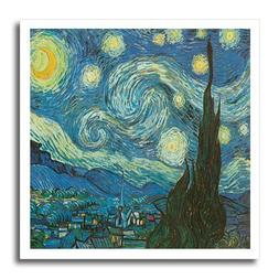 3dRose ht_128155_1 The Starry Night by Vincent Van Gogh Iron