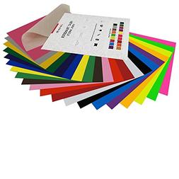 "HTV Heat Transfer Vinyl Bundle: 20 Pack Assorted Colors 12""x"