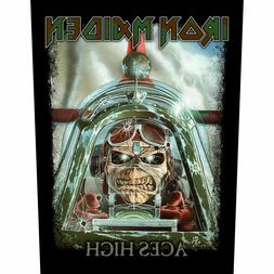 Iron Maiden Official Backpatch Aces High Back Patch British