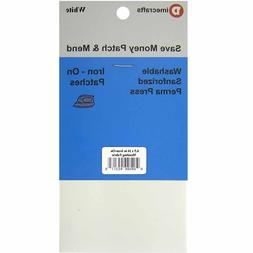 `Iron-On Mending Fabric Repair Patch 6.5 x 14 Inch Compare t