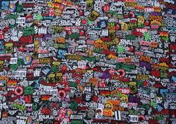 Iron On Patch Embroidered Wholesale Band Music Rock Metal Po