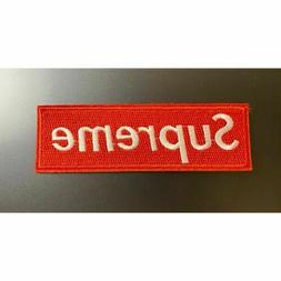 Iron on Patch:Red Supreme
