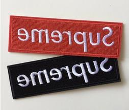 Iron on patch: Supreme