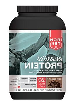 Iron Tek Essential Natural High Protein, Chocolate 1.57 lb