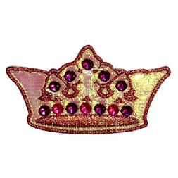 Jeweled Crown Patch Pretty Princess Queen Costume Metallic I