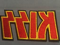 """Kiss Embroidered Iron/Sew ON Patch 3.50"""" x 2"""" Rock Metal"""