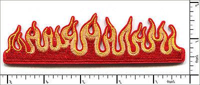 15 pcs embroidered iron on patches fire