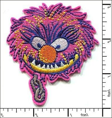 15 pcs embroidered iron on patches muppets