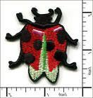 20 Pcs Embroidered Iron on patches LadyBug Insect 4.5x5cm AP