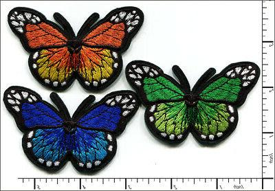 30 pcs embroidered iron on patches mixed